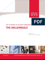 HVS Top 10 Trends of the Next Generation of Travel the Millennials