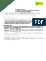 Consideraciones Comerciales Post Pago Prepago