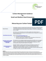 Carbon Footprinting Guidance for SMEs