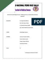 Trabajo de Embrio - Urogenital