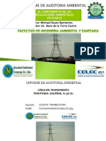 Informe de Auditoria Ambiental Electrico Final 01.02.17