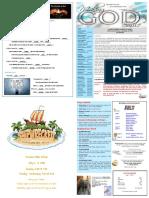 Church St Bulletin for July 8, 2018