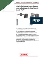 Control Adores y Trans Mi Sores Neumatico de Nivel de Liquido Trol Folleto PF34.2.2500, Abril 2001(2)