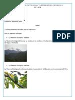 RESERVAS NATURALES DEL ECUADOR