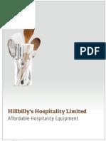 HillBilly's Hospitality LTD