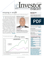 Value Investor Insight Francois Rochon August 27, 2010
