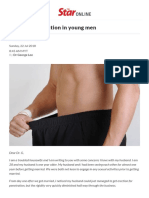 Erectile Dysfunction in Young Men - Putting Dr G on the Spot _ the Star Online