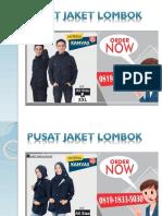 0819-1833-5030 | Konveksi Jaket Bomber Siap Kirim Ke Sukamulia Kabupaten Lombok