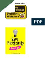 Spanduk Hemat Energi