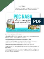 PENAWARAN_0823*2292*4990. POC NASA Lampung Sumatra, Jual POC NASA Lampung, Harga POC Nasa Sumatra