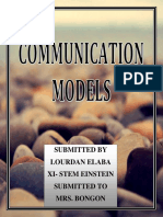 Different Models of Communication