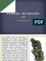 FILOSOFÍA DEL DERECHO. MATERIAL 1ER CORTE