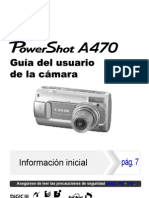 Manual de Canon a470