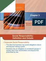 Social Responsibility Business Ethics