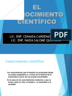 Diapositivas de l Conocimiento Cientifico Trabajo