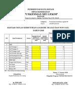 Surat Permintaan Logistik Tb Pkm Sei Lekop 2018