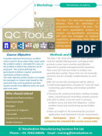 7 New QC Tools Workshop by Tetrahedron