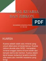Mineral Kuarsa Dan Zirkon