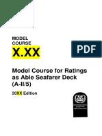 AB Deck Course Framework