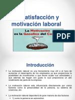 4-Satisfación y Motivación Laboral