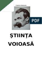 Friedrich Nietzsche - Știința voioasă.pdf