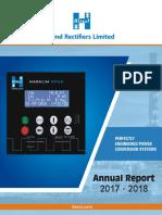 HRL Final Annual Report 2017-18