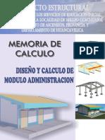 03_memoria de Calculo Estructural - Administracion
