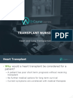 Transplant Nursing Heart Lungs FINAL