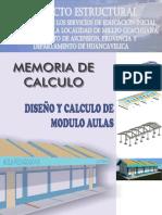 01_memoria de Calculo Estructural - Aulas