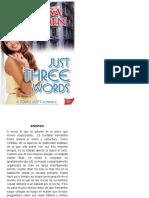 338605329 Just Three Words Segunda Entrega Trilogia Soho Brayden Melissa