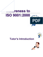 ISO 9001 2000 Auditor Training