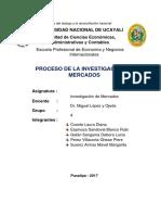 PROCESO DE LA INVESTIGACIÓN DE MERCADOS