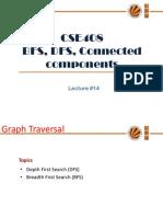 Lecture 14(Bfs,Dfs)