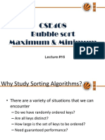 Lecture16(Minmax Sorting)