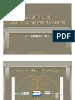 ISO 9001 2000 Auditor Training