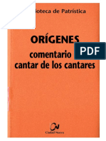 1. ORIGENES- El comentario al Cantar de los cantares.pdf