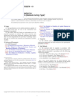 ASTM D 2027 Medium Setting