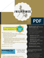 Philippines and Accessibility