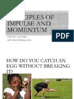 Lec 3.5 Impulse and Momentum