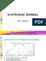 VII. Distribusi Normal