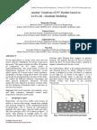 Effects of Parameter Variations of PV Module based on MATLAB-Simulink Modeling