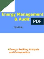Energy Audit BME 2018