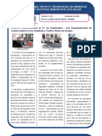 Proyecto BOL/J39 EL ALTO - UNODC Boletín Nº 5