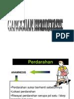 Gangguan Hemostasis