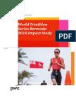 World Triathlon Series Bermuda 2018 Impact Study