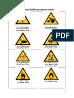Commande Pictogrammes HSE