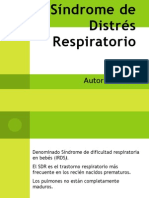 Sindrome Distres Respiratorio [Embriologia]