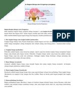10 Bagian Bagian Bunga Dan Fungsinya