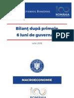 Cabinetul Dăncilă. Bilanțul primelor șase luni de guvernare
