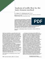 Analysis of Traffic Flow